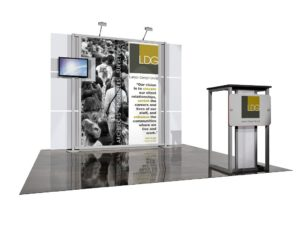 eSmart sustainable display for Larson Design Group