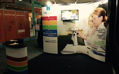 LabLearner at 2015 NAIS Show in Boston